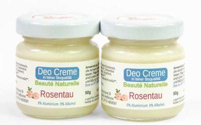 Neu: die Bio Deo Creme von Rosenrot im günstigen 2er Pack
