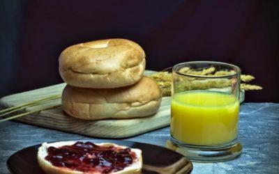 Bagels: ein Frühstückstraum